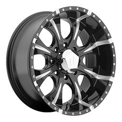 Helo HE791 Maxx Gloss Black Wheel With Milled Accents