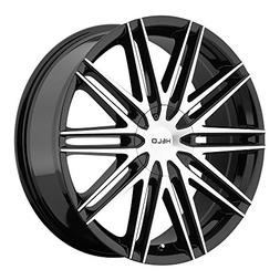 Helo HE880 Gloss Black Wheel With Machined Face