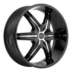 """Helo HE89124966335 24"""" HE891 Wheel Rim - Black 24x9 6x135 6x"""