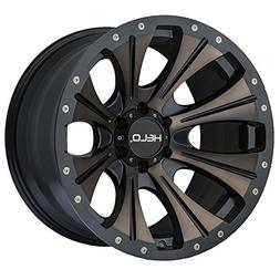 Helo HE901 20x9 Black Tint Wheel / Rim 6x5.5 with a 18mm Off