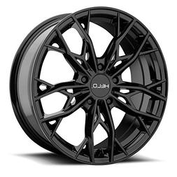 Helo HE907 17x7 5x114.3 +38mm Gloss Black Wheel Rim