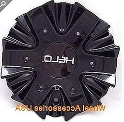 Helo 866 Black Wheel Center Cap HE866CB4 NEW Rim MIddle with