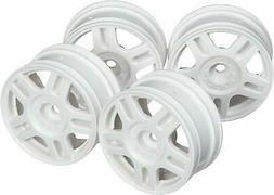 Tamiya Hop-Up Options No.1674 5 Slit Spoke Wheels  White 4 5