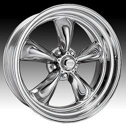American Racing Hot Rod Torq Thrust II VN515 Polished Wheel