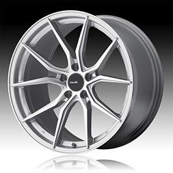 Advanti Racing Hybris 19 Silver Wheel / Rim 5x112 with a 45m