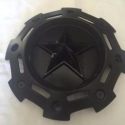 KMC Rockstar II Wheel Center Cap SC-198 NEW Black Rim Middle