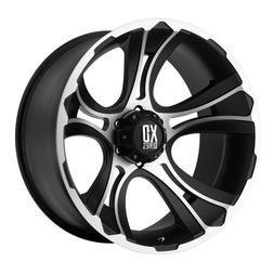 KMC Wheels XD Series  Crank Wheel with Matte Black Machined