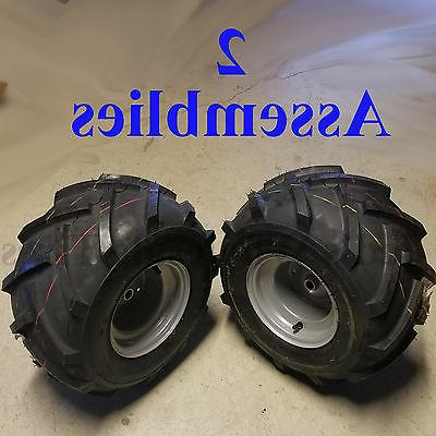18x9.50-8 TIREs RIMs WHEELs ASSEMBLY Garden Tractor Riding M
