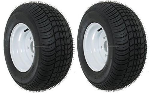 2 pack trailer tire on rims 20