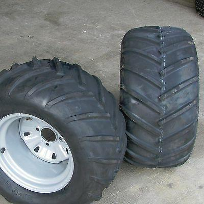 24x12.00-12 TIREs RIMs WHEELs ASSEMBLY Garden Tractor Z Ridi