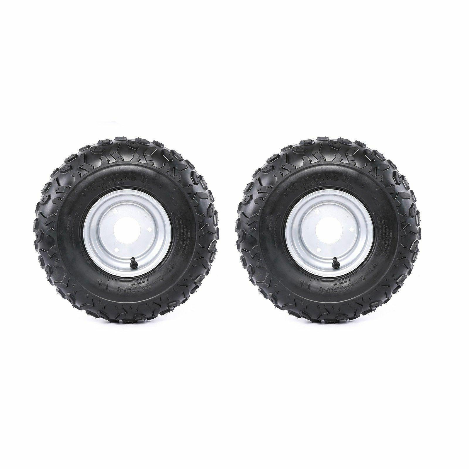 2pc 145 70 6 wheel tire rim