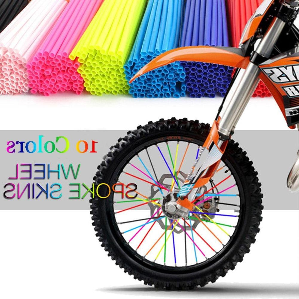 36Pcs/set Bike Motorcycle Decoration Motocross Wraps <font><b>Rims</b></font> Skins Covers Decoration