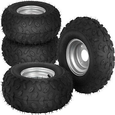 4pcs 145x70 6 inch wheel rim tyre