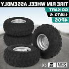 4x go kart atv tire with wheel