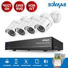 SANNCE 8CH 1080P HDMI DVR 3000TVL 2MP Video Outdoor CCTV Sec