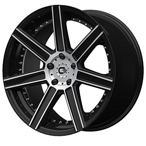 650mb 22x9 black wheel rim 5x4 5
