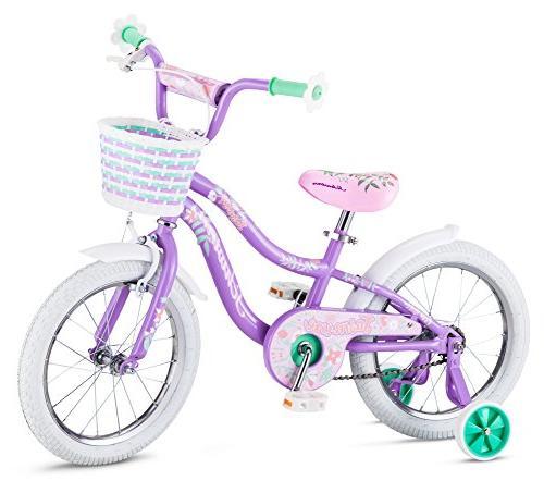 """Schwinn Jasmine Kids Bicycle 16"""" wheel size, age 4 to 7 with"""