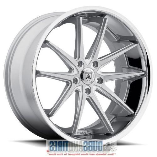 abl 5 22x9 silver wheel rim 5x120