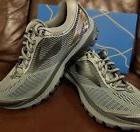 BRAND NEW IN BOX! BROOKS GHOST 10 MENS RUNNING SHOES GRAY BL