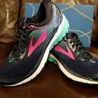 BRAND NEW IN BOX! BROOKS GHOST 10 WOMENS RUNNING SHOES NAVY