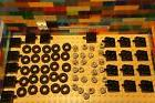 LEGO Bulk of  Wheels Rims TIRES AXLES for Cars Trucks - 70 P