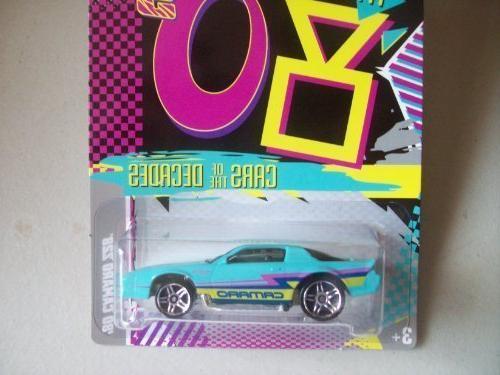 cars decades 80 camaro z28