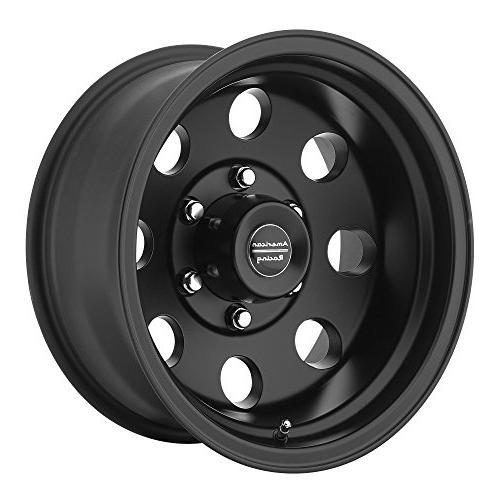 custom wheels ar172 baja satin black wheel