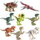 Dinosaur Rex Tyrannosaurus Jurassic World Park 8 Minifigures