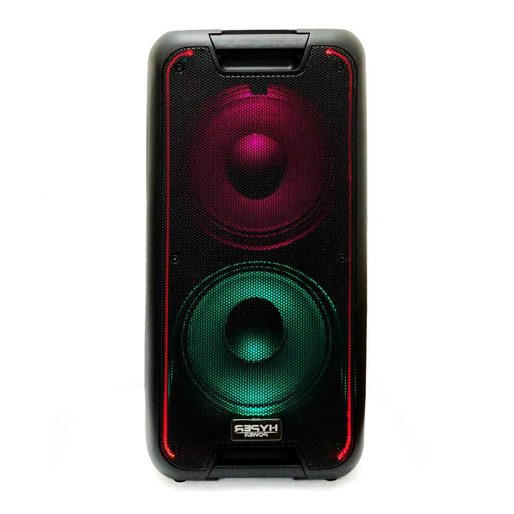 HyperPower Party Box Speaker USB Rechargeable