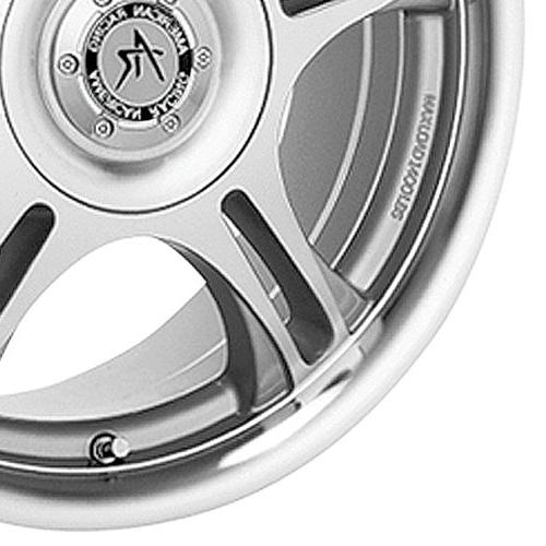 American Racing Machined Wheel with Clear Coat
