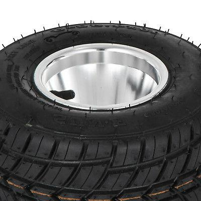 Go Wheels Kart Rain Tires of Front and
