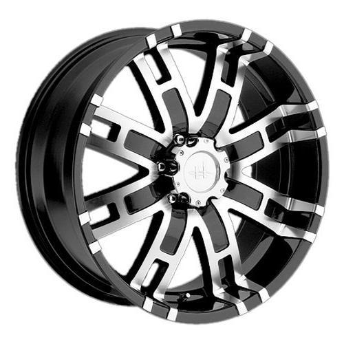 he835 gloss black wheel