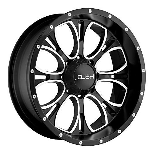 he879 wheel with gloss black milled 17x9