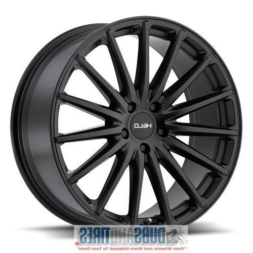 he894 satin black wheel 18x8 5x114 3mm