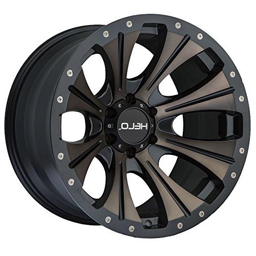 he901 20x9 black tint wheel rim 6x5