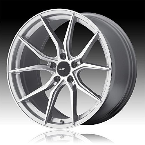 hybris 19 silver wheel rim 5x112