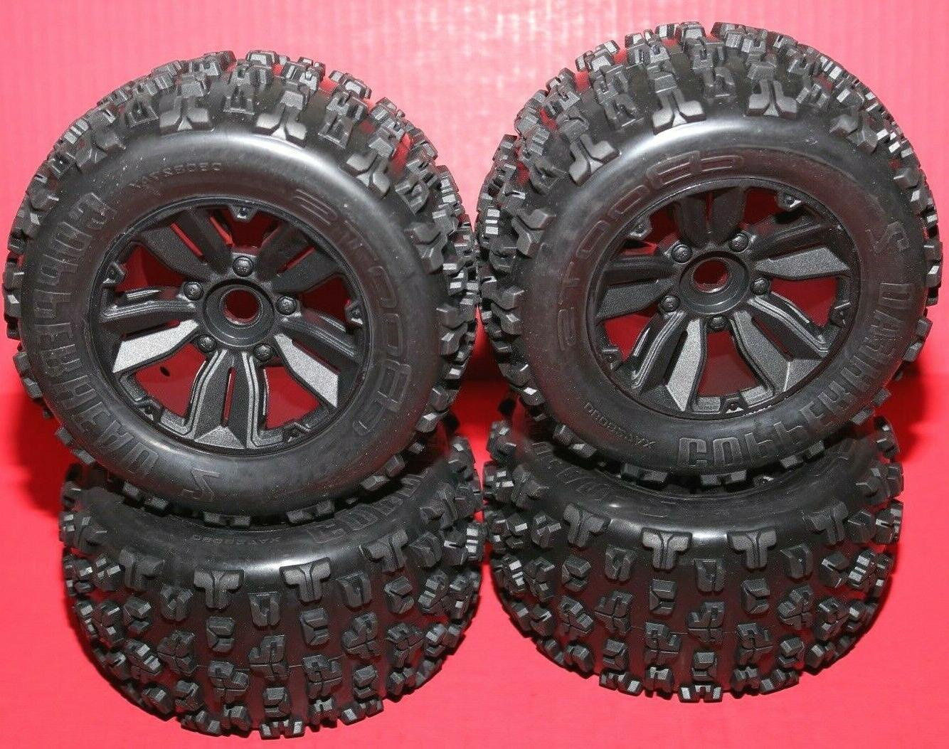 kraton 6s blx tires and wheels tyres
