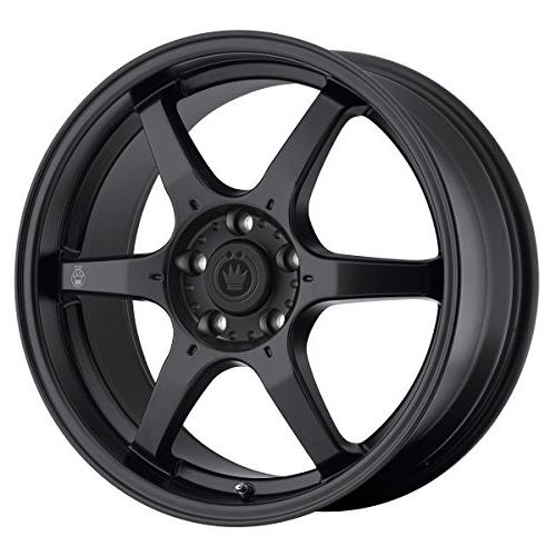 matt black wheel 17x7 5 4x100mm