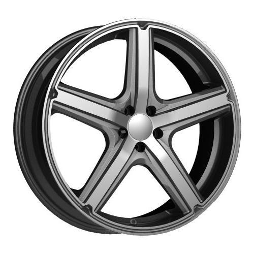 maverick ar8834 anthracite finish wheel with machined