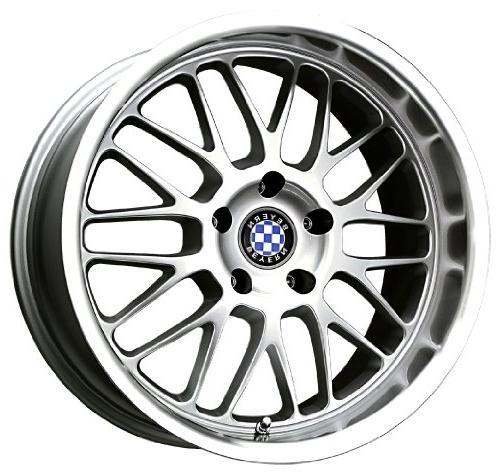 mesh silver machined wheel 19x8 5 5x120mm
