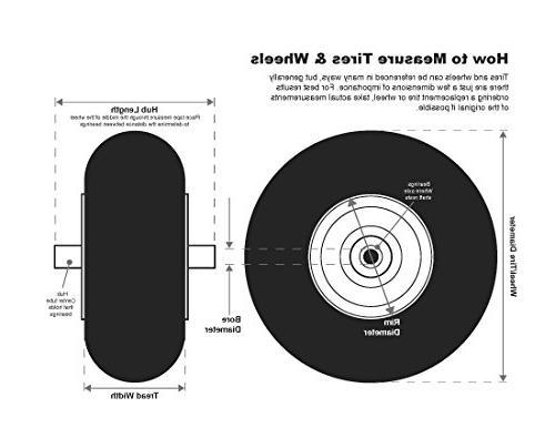 Shepard Hub Semi Pneumatic Rubber - 8 1.75 Inches