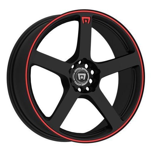 mr116 matte black finish wheel