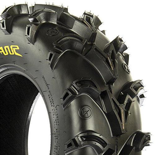 SunF Mud Replacement ATV 6 Ply Tires Tubeless