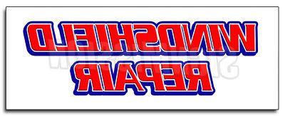 MUFFLER REPAIR DECAL sticker brake shop auto repair oil chan