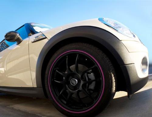GoBadges RB03 Pink Rim Blade,