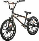 NEW! 20' Mongoose Rebel Freestyle Boys' BMX BIKE Black Bicyc