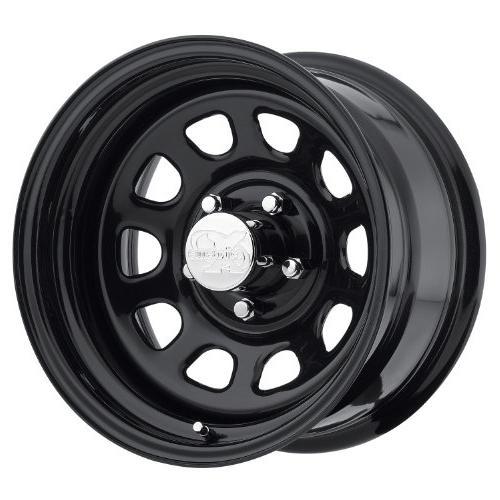 series 51 wheel with flat black finish
