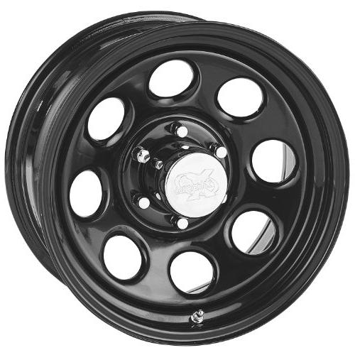 series 97 wheel with gloss black finish