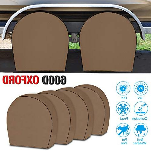 tire covers for rv wheel set of