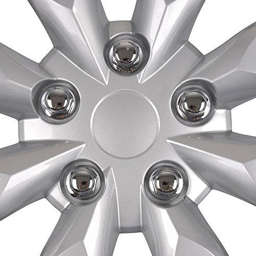 "BDK Corolla Hubcaps 16"" Wheel - 2014 Model Cover,"